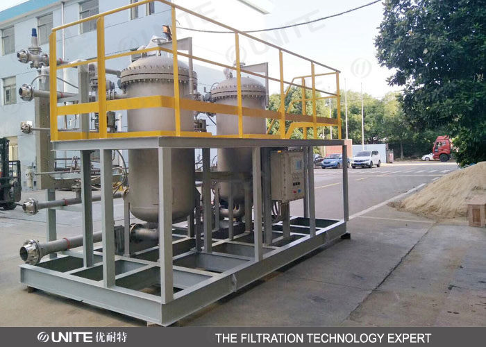 Automatic Back Flushing Filter for high precision gas solid,solid liquid separation